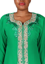 Load image into Gallery viewer, Kaftan Design # 7165 - Pure Green