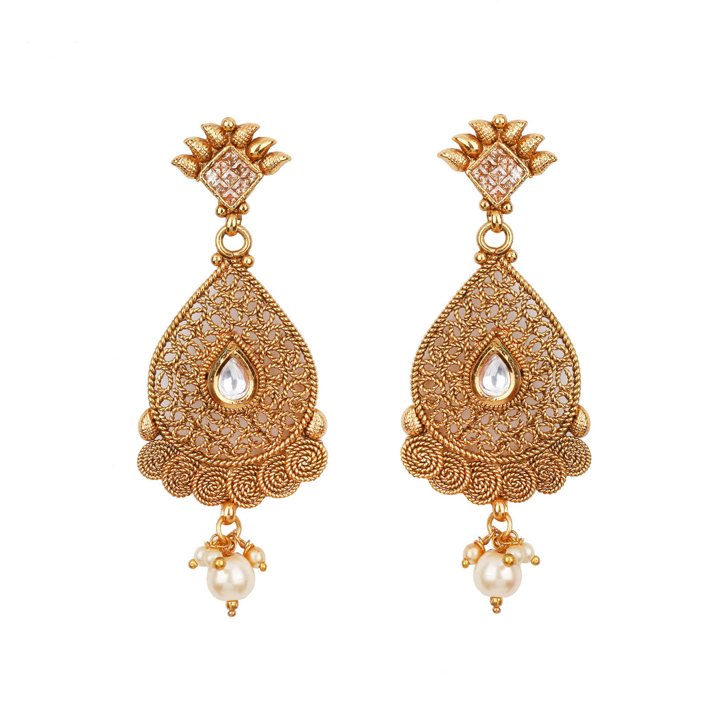Medallion Earrings - Design # 7055