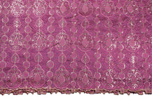 Load image into Gallery viewer, Hand Stoned George Wrapper Design # 6610 - Lilac - Without Blouse