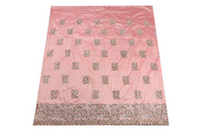 Load image into Gallery viewer, Hand Stoned George Wrapper Design # 6647 - Peach - With Blouse