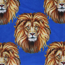 Load image into Gallery viewer, Printed Fabric Design   # 3151 -Royal Blue -  Per yard