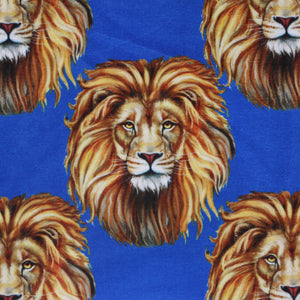 Printed Fabric Design   # 3151 -Royal Blue -  Per yard