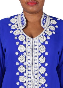 Kaftan Design # 7166 - Royal Blue