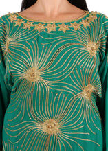 Load image into Gallery viewer, Kaftan Design # 7204 - Pure Green - Free Size