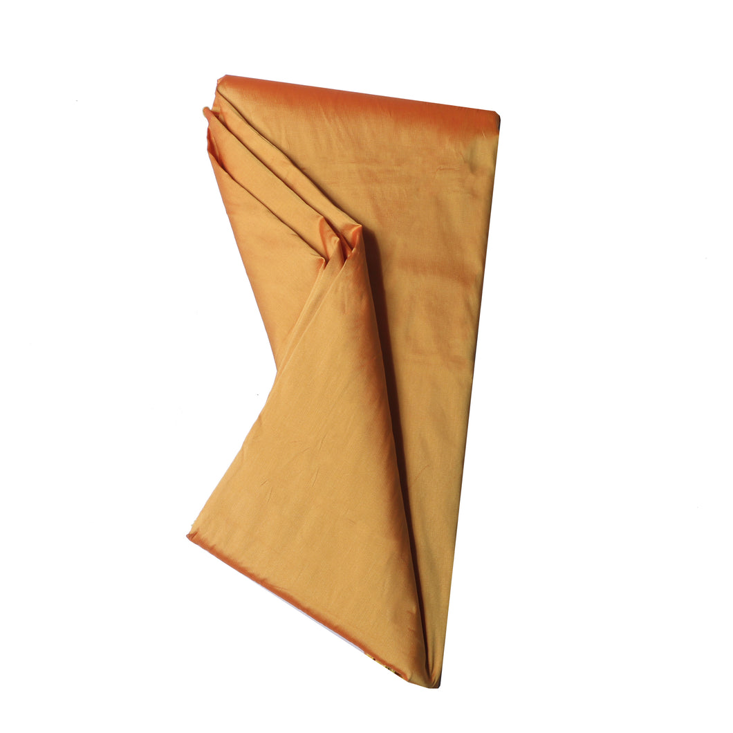 Plain Silk Taffeta - Yellow Gold - 5 yard Piece