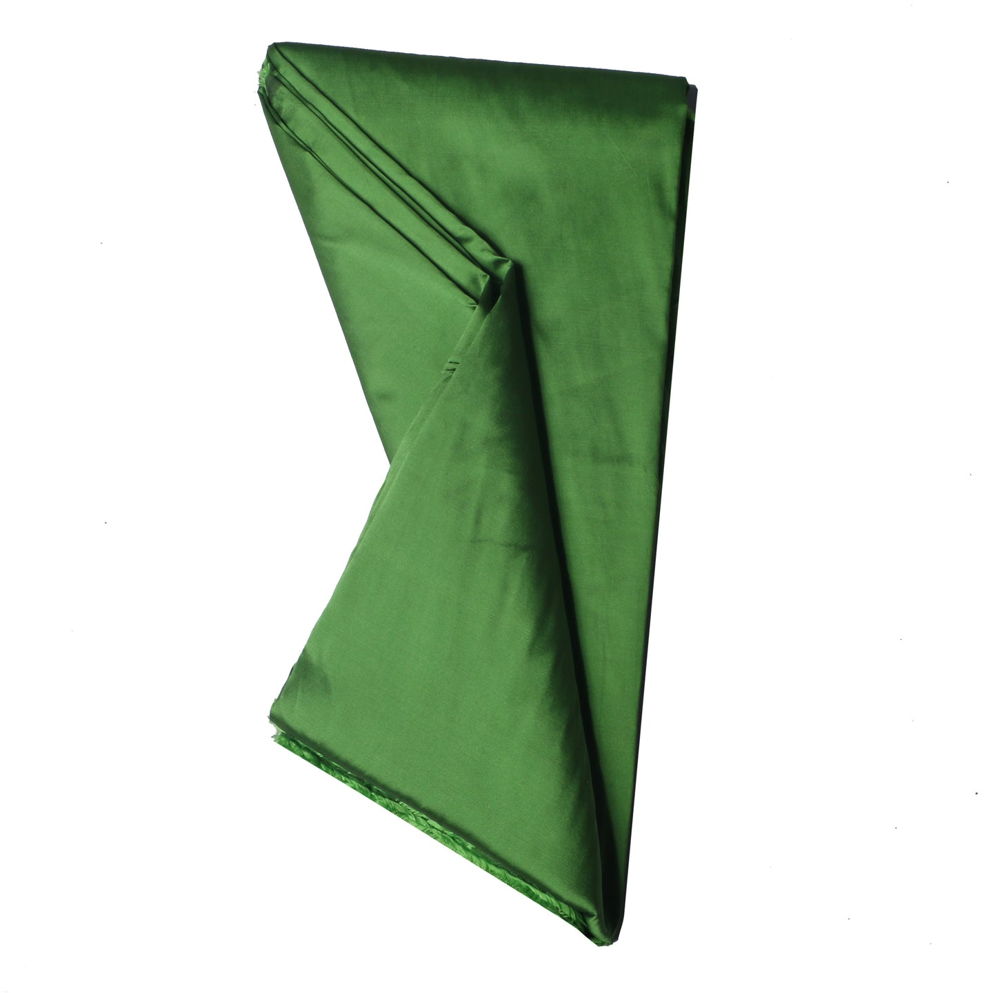 Plain Silk Taffeta - Army Green - 5 Yard Piece