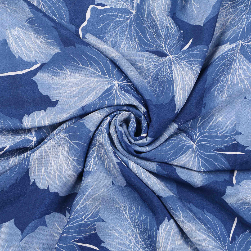 Printed Satin Design # 1022 - 5 Yard Piece