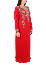 Load image into Gallery viewer, Kaftan Design # 7061 - Maroon