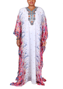 Kaftan Design # 7175  -  Pure White