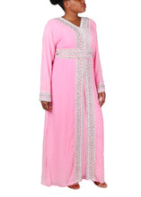 Load image into Gallery viewer, Kaftan Design # 7090 - Baby Pink