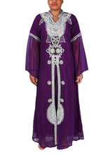 Load image into Gallery viewer, Kaftan Design # 1033 - Purple