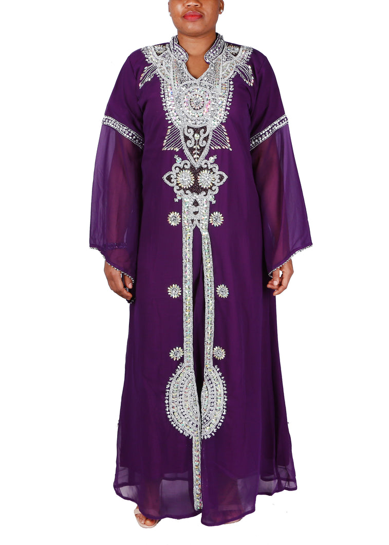 Kaftan Design # 1033 - Purple