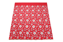 Load image into Gallery viewer, Hand Stoned George Wrapper Design # 6727 - Red - With Blouse