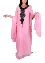 Load image into Gallery viewer, Kaftan Design # 1019 - Baby Pink