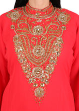 Load image into Gallery viewer, Kaftan Design # 1037 - Red