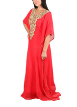Load image into Gallery viewer, Kaftan Design # 1016 - Red