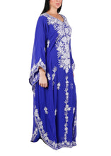 Load image into Gallery viewer, Kaftan Design # 7203 - Royal Blue - Free Size