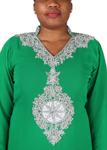 Load image into Gallery viewer, Kaftan Design # 7046 - Pure Green