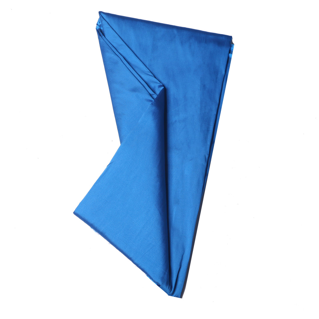 Plain Silk Taffeta - Turquoise Blue - 5 Yard Piece