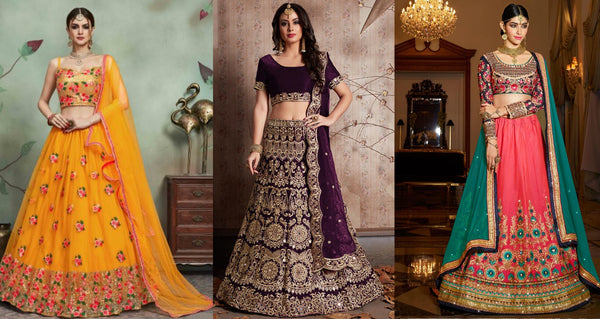 8 Latest Lehenga Designs of 2020