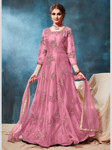 Anarkali Suits - Net & Shantoon Anarkali
