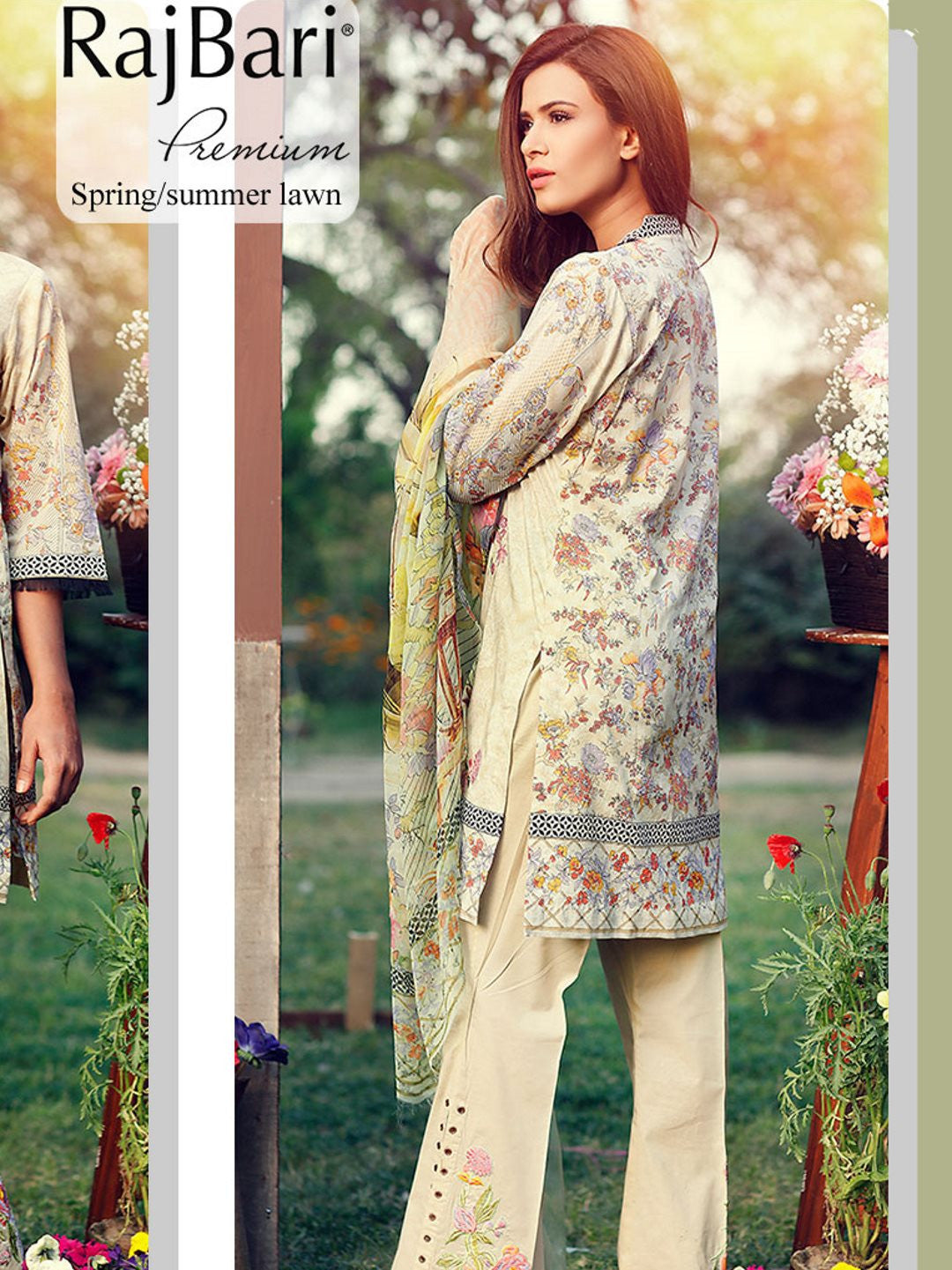 Premium Embroidered Cotton Lawn