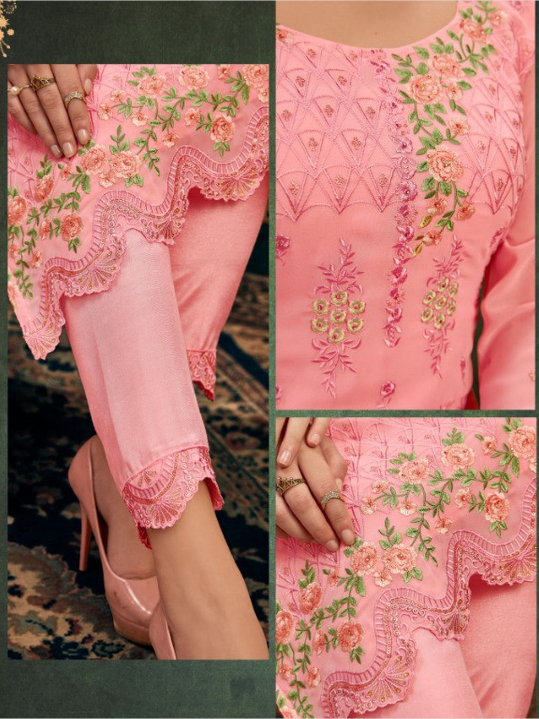 Chiffon & Georgette Embroidery