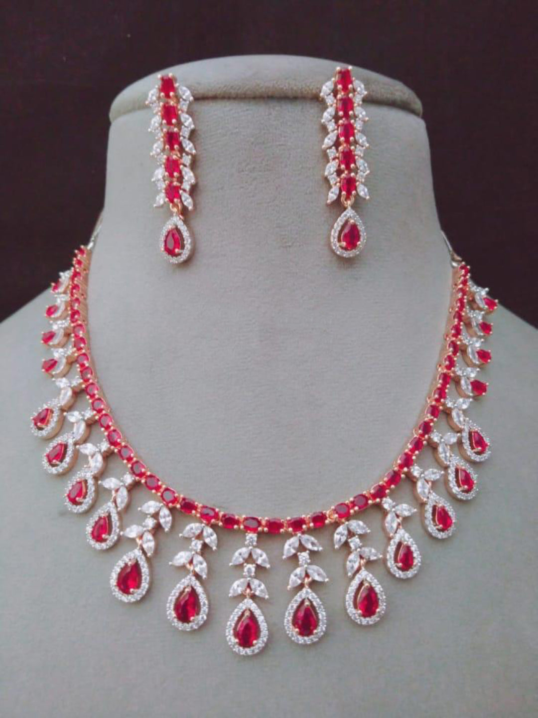 Zirconia Stone Necklace
