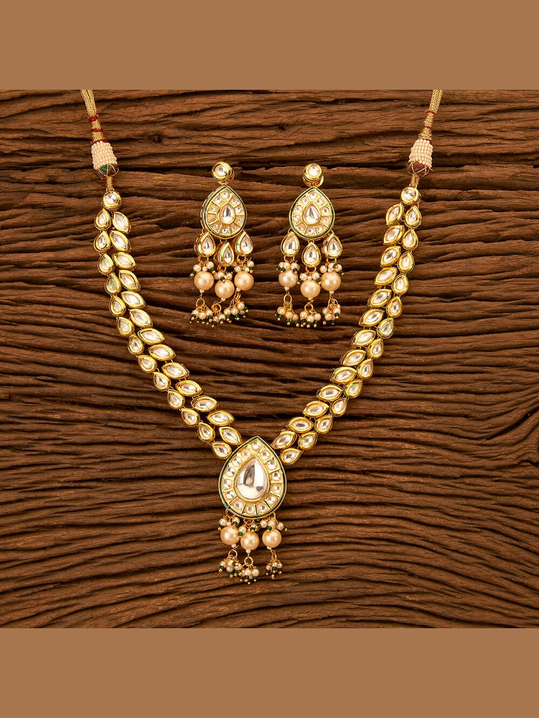 Pure Kundan & Pearl Necklace