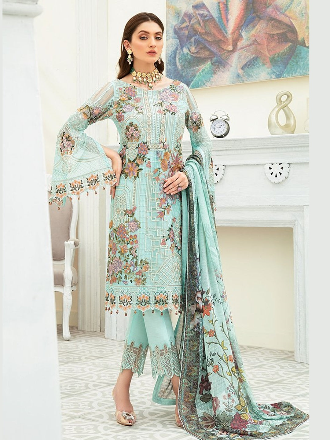 Royal Chiffon - Pakistani Dress