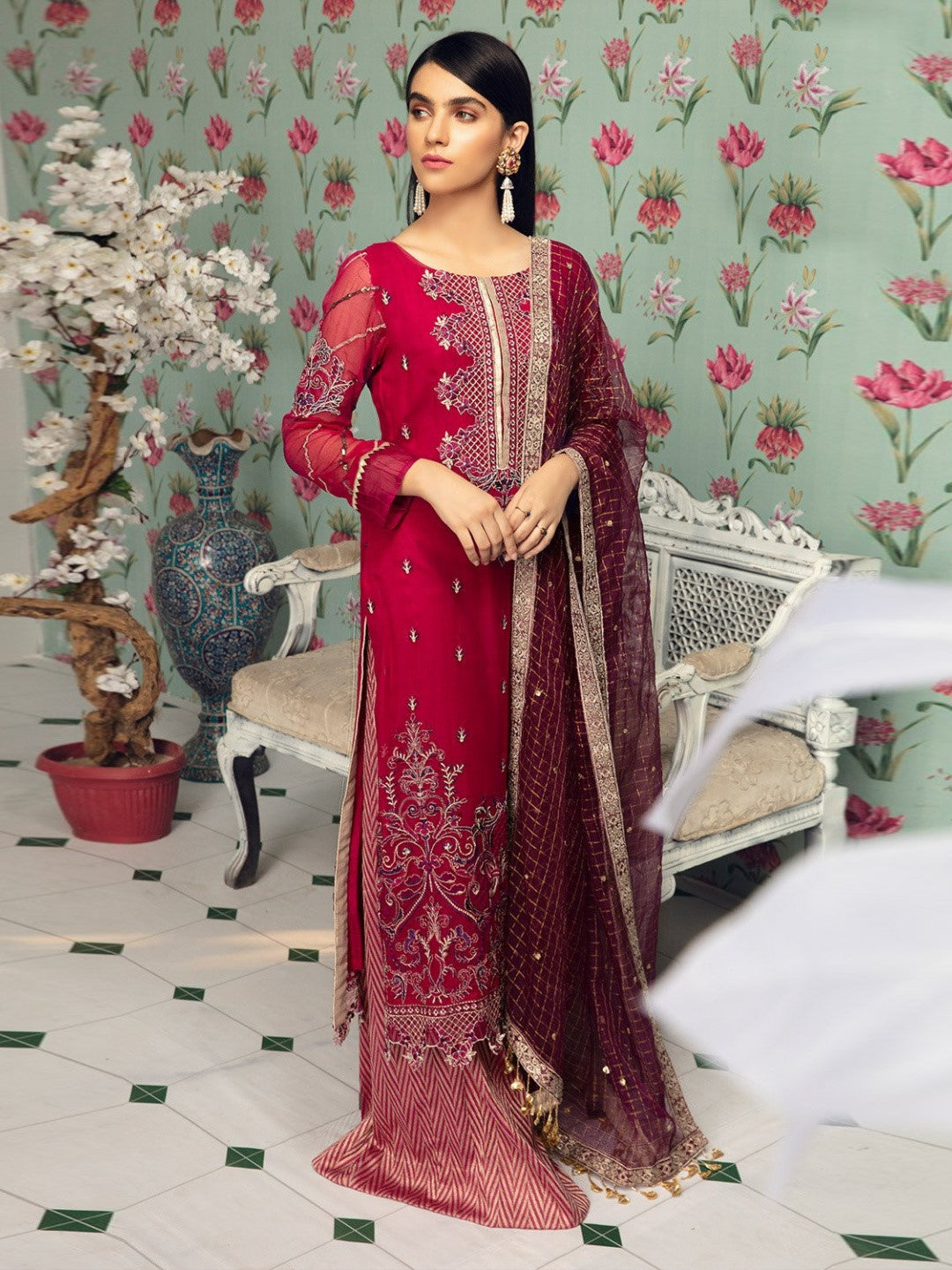 Premium Chiffon Pakistani Dress