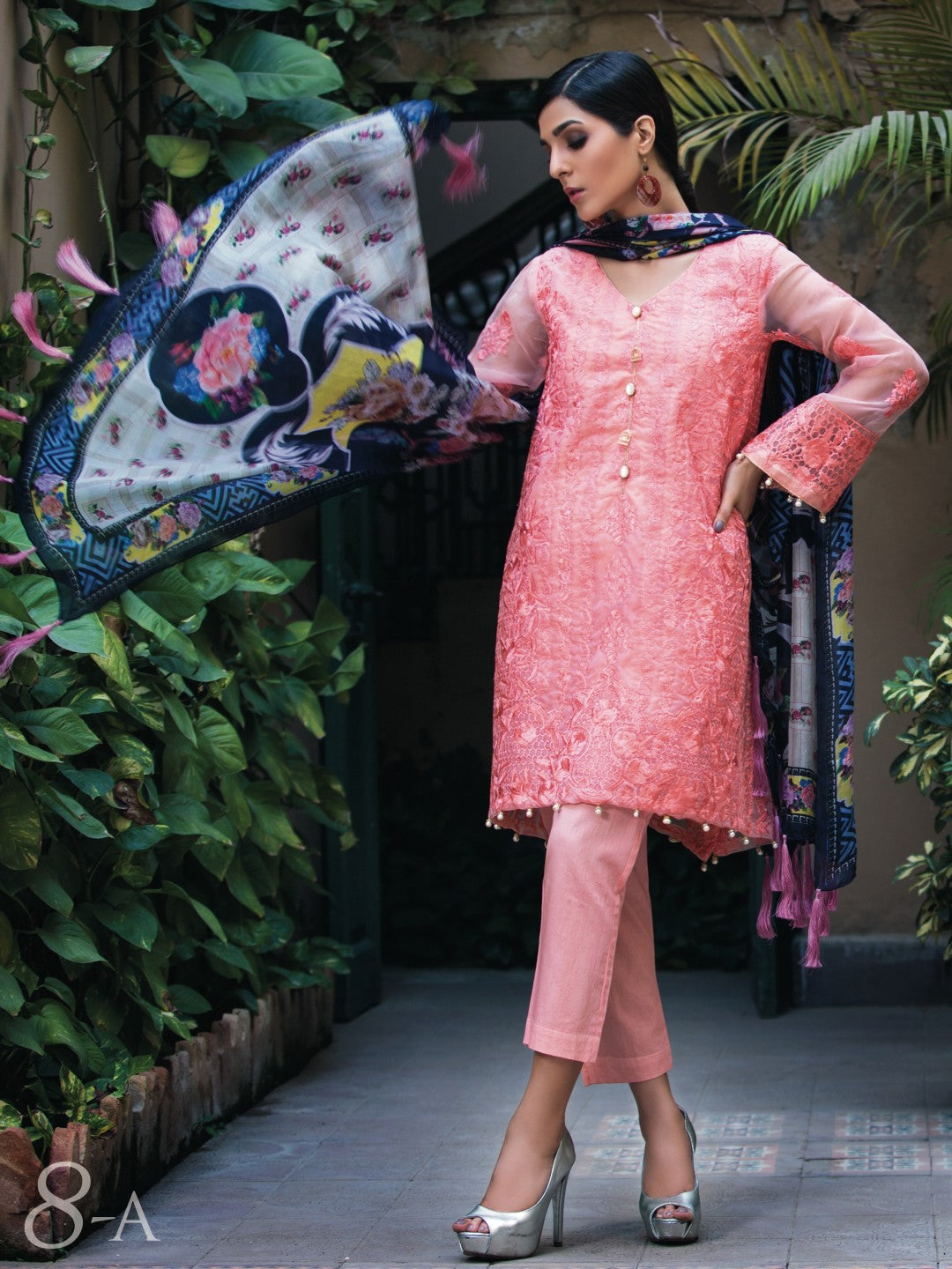 Embroidered Silk Collection