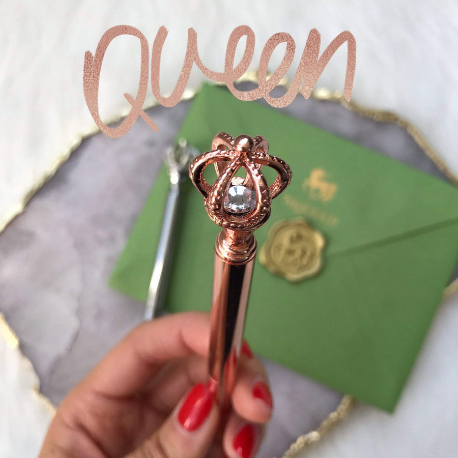 Queen Pen Stationery - Pens alleymuse
