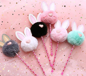 Bunny Gel Pen Stationery - Pens alleymuse