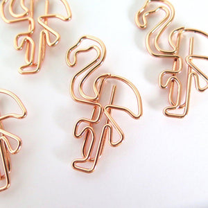 Flamingo Planner Clips
