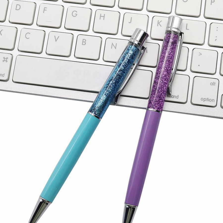 Adds on Glitterfall light blue and purple silver Tomohiro Stationery Shop Store