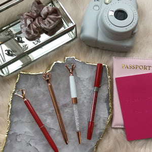 Red-y to Glow Set Stationery - Pens alleymuse