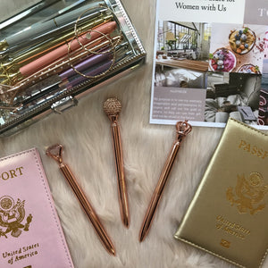 Luxury Travel Set Stationery - Pens Trendy Co., LTD Over-the-top Luxurious Jetsetters
