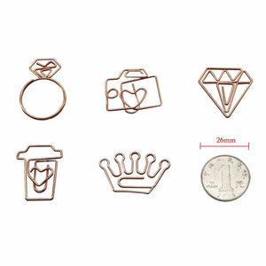 Bundle Diamond Paper Clips Tomohiro Stationery Shop Store