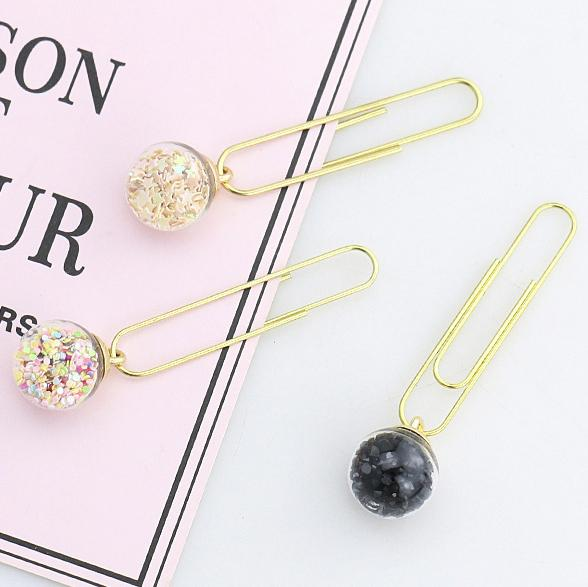 Glass Ball Planner Clips Set Stationery - Clips AliExpress - 1212 Store