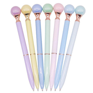 Pearl Pen - Cotton Candy Colors Stationery - Pens Aliexpress - AliWuzn HappyOffice Store