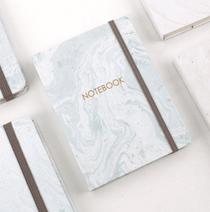 Pastel Marble Notebook Stationery - Journal alleymuse