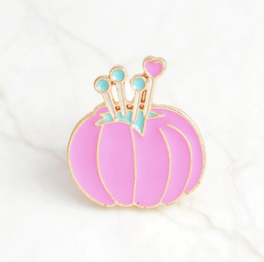 Crafty Enamel Pins Accessories - Enamel Pins alleymuse Pin Cushion Holder