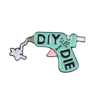 DIY Lover Enamel Pin Accessories - Enamel Pins alleymuse