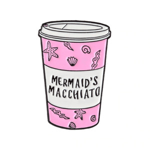 Mermaid Macchiato Enamel Pin Accessories - Enamel Pins alleymuse