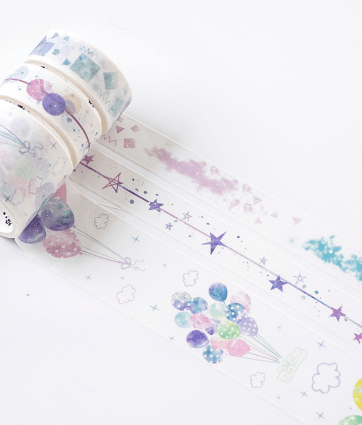 Rising Stars Washi Tape Set Stationery - Washi alleymuse