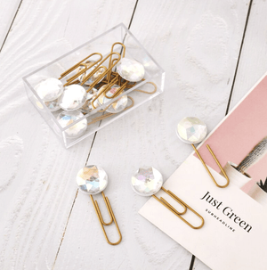 Sparkle Gem Planner Clips Set Stationery - Clips AliExpress - 1212 Store