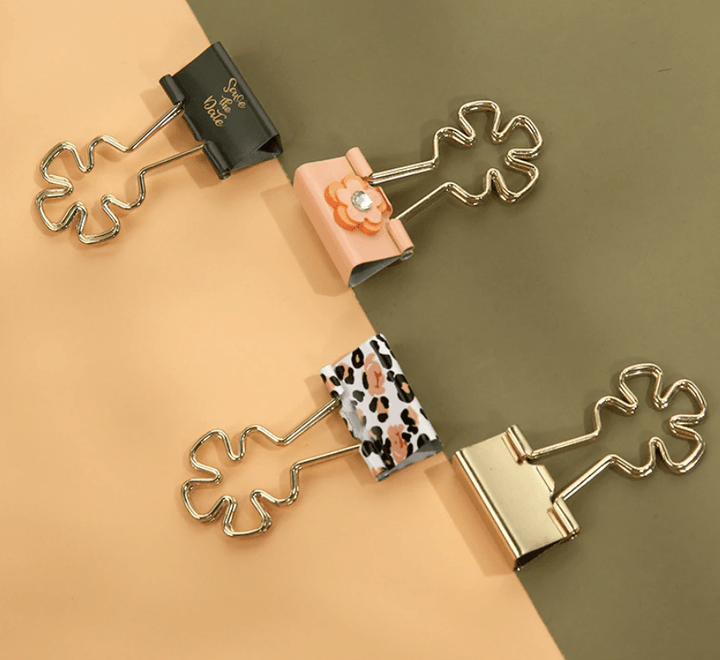 Safari Glam - Binder Clips Stationery - Clips AliExpress - CC's Gifts
