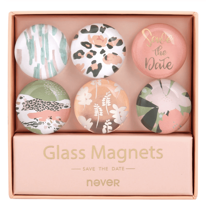 Safari Glam - Glass Magnet Set Stationery - Magnet AliExpress - CC's Gifts