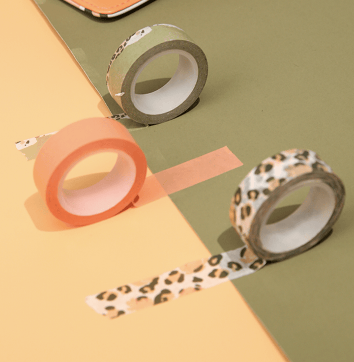 Safari Glam - Paper Washi Tape Stationery - Washi AliExpress - CC's Gifts